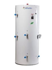 Dual coil indirect water heaters