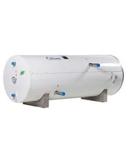 Horizontal insulated tanks